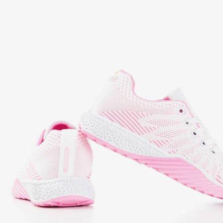 Белые и розовые кроссовки - Обувь