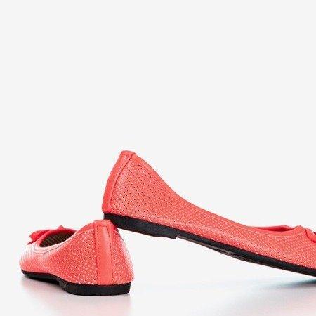 Детские оранжевые балетки Lavisca - Обувь