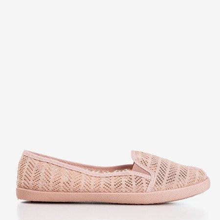 Женская розовая ажурная комбинация - на Hessani - Обувь