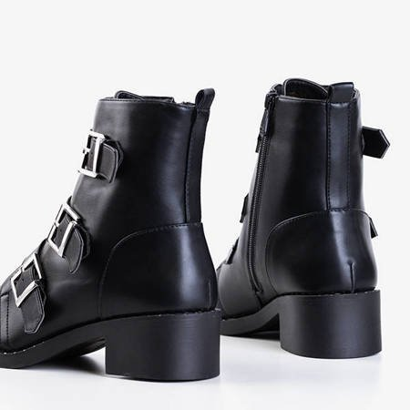 Женские черные ботильоны Mershiao - Обувь