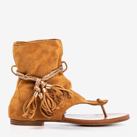 Коричневые сандалии с верхом Semara - Обувь