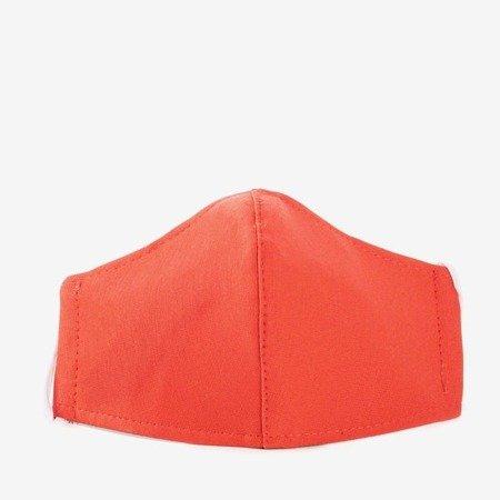 Красная двухслойная маска для лица - Маски