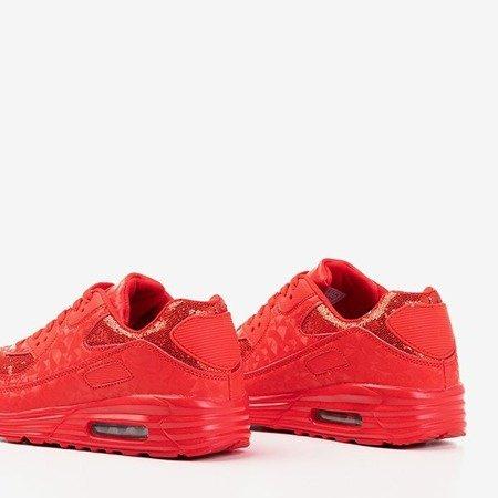 Красные кроссовки с блестками Evanciia - Обувь