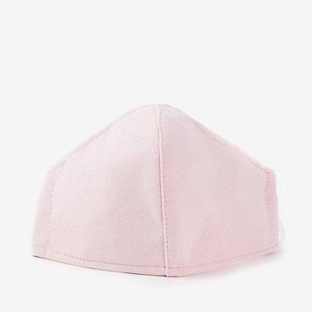 Розовая 3-слойная маска для лица - Маски