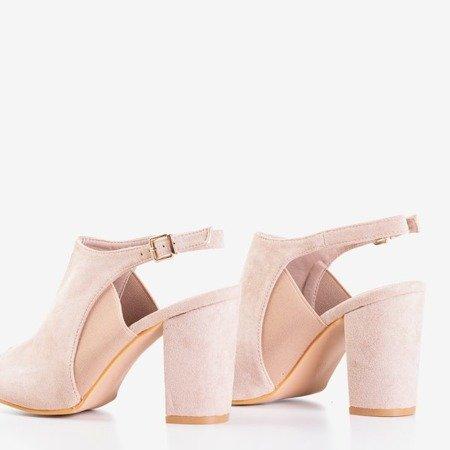 Сандалии на высоком каблуке с пудрой Bartom - Обувь