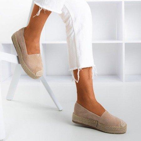 Светло-коричневые эспадрильи на платформе Roseanne - Обувь