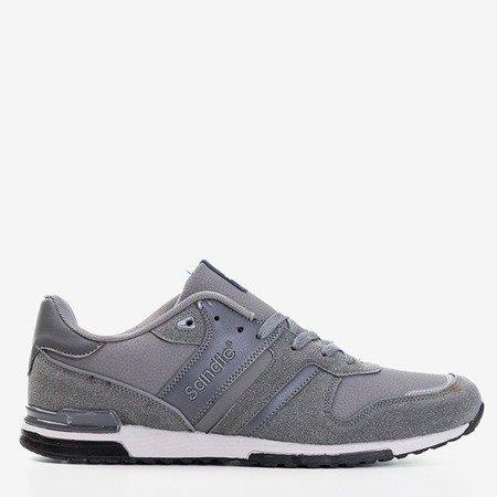 Серые мужские спортивные туфли Mubert - Обувь