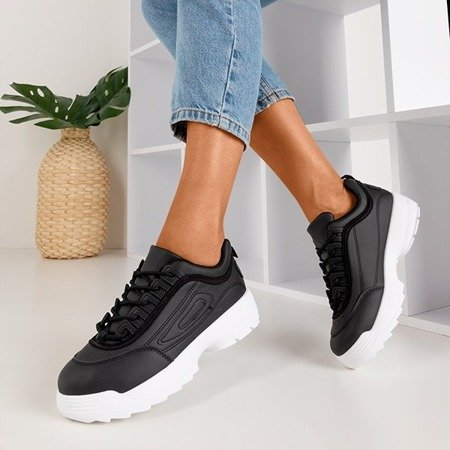Черная женская спортивная обувь Opilentu - Обувь