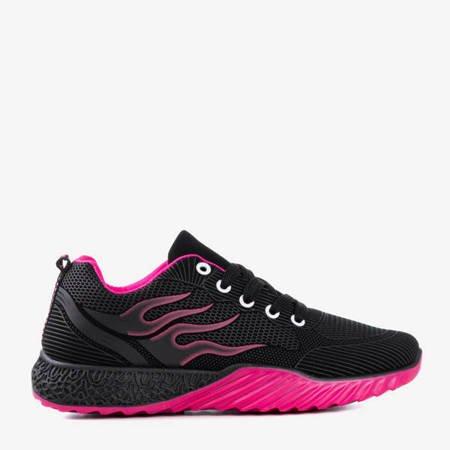 Черные и розовые женские спортивные туфли Topar - Обувь