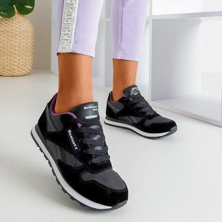 Черные и фиолетовые женские спортивные туфли Sandi - Обувь