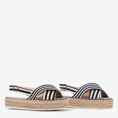 Черные сандалии на платформе Lauretta - Обувь