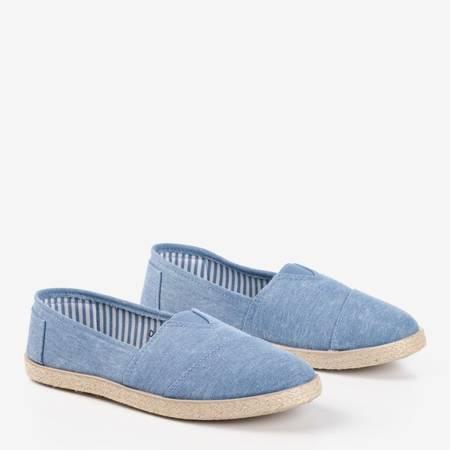 Эспадрильи из синей ткани a'la jeans Timsa - Обувь