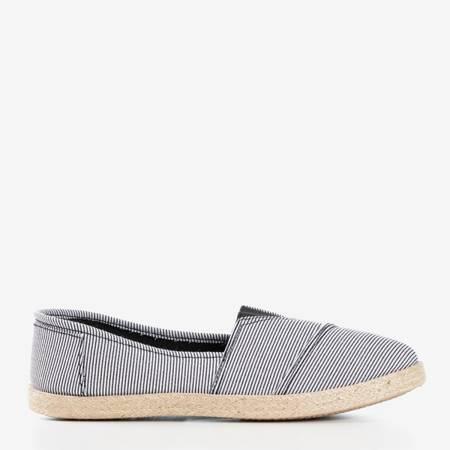 Эспадрильи Timsa в черно-белую полоску - Обувь