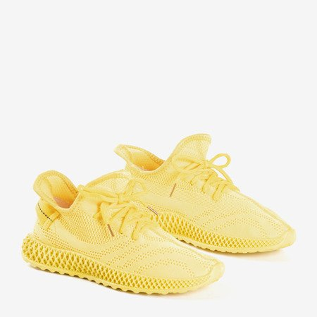 желтая спортивная женская обувь Amberi - Обувь