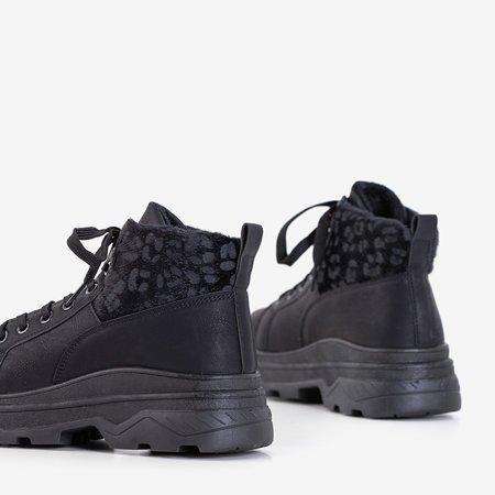Черная женская утепленная спортивная обувь Fturen - Обувь