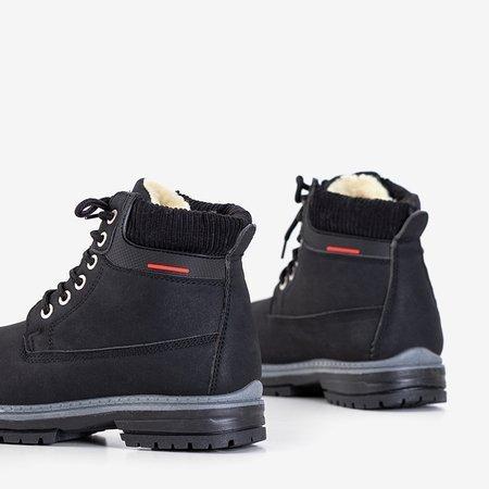 Черные женские утепленные сапоги Triniti - Обувь