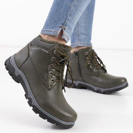 Трекинговые туфли Huran женские цвета хаки - обувь