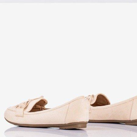 Бежеві мокасини з бантом Sweet Nothing - Взуття 1