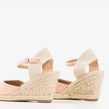 Босоніжки на башмаках із порошком a'la espadrilles Tidem - Взуття