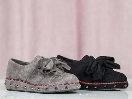 ВИХІД Сірі низькі туфлі з прикрасами Пхукет - Взуття