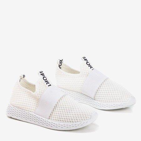 Жіноче біле спортивне взуття - на Andalia - Взуття