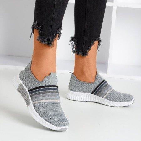 Жіноче спортивне взуття сірого кольору - на Sweet Rainbow - Взуття