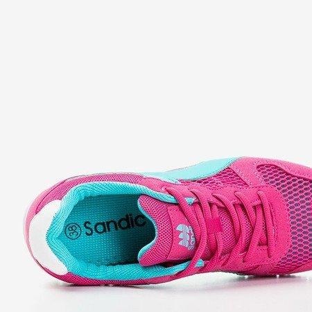 Жіноче спортивне взуття Fuchsia з блакитними вставками Kannasi - Взуття