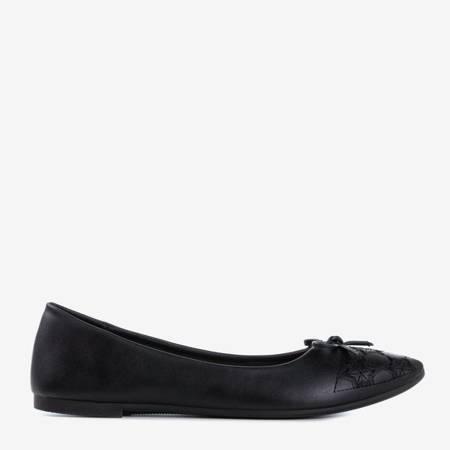Жіночі балетки Dafna Black Eco-шкіра - Взуття