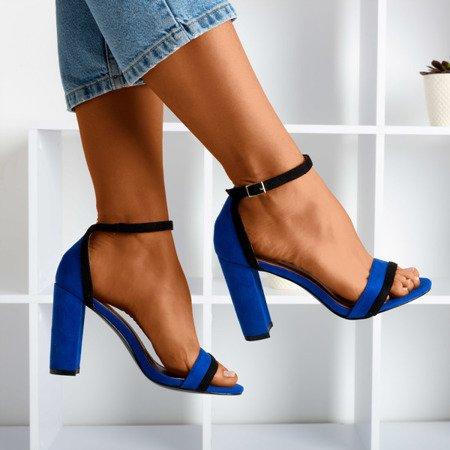 Жіночі босоніжки з кобальтом на вищій посаді Johanea - Взуття 1