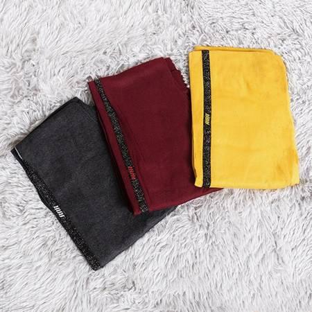 Жіночі гетри темно-сірого кольору в смужку - Одяг