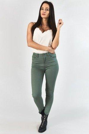 Жіночі джинсові штани хакі - Штани