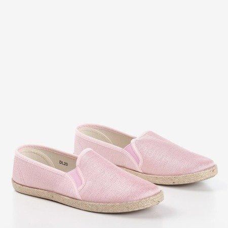 Жіночі ескадрилі Kallos рожеві з джутовим шнуром - Взуття