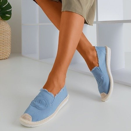 Жіночі еспадріли з джинсового одягу Blue a'la Elmot - Взуття