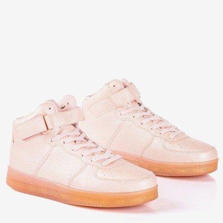 Жіночі рожеві високі кросівки Celleste - Взуття