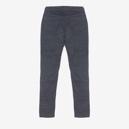 Жіночі темно-сині джинсові штани - Одяг