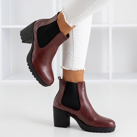 Жіночі чоботи Maroon на високих підборах Vireek - Взуття