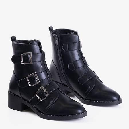 Жіночі чорні ботильйони Mershiao - Взуття