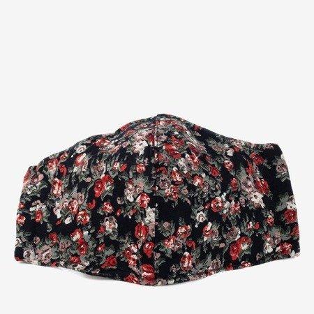 Квіткова тришарова захисна маска для обличчя - Маски 1
