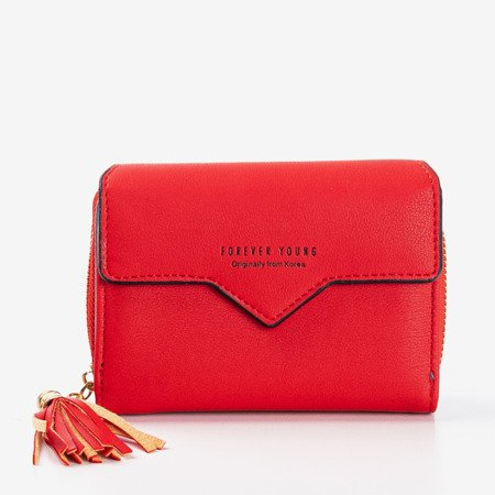 Маленький червоний жіночий гаманець - Гаманець 1