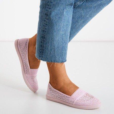Рожеві балерини з тканини Noremies - Взуття