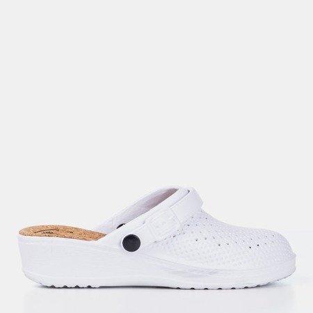 Сабо білі Салони хортуса - Взуття 1