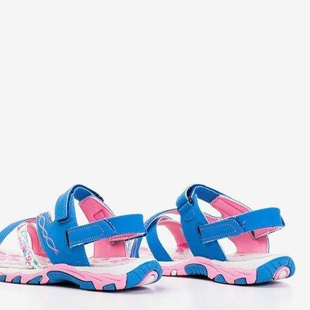 Сині жіночі босоніжки Esteban - Взуття