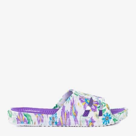 Фіолетові гумові тапочки Napea - Взуття 1
