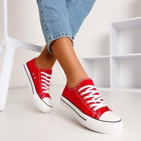 Червоні жіночі кросівки Habena - Взуття 1