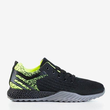 Чоловіче взуття чорного та зеленого кольору Dżeki - Взуття 1