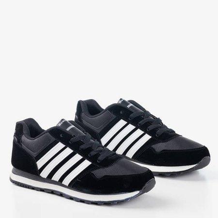 Чорне та біле чоловіче взуття Gobak - Взуття