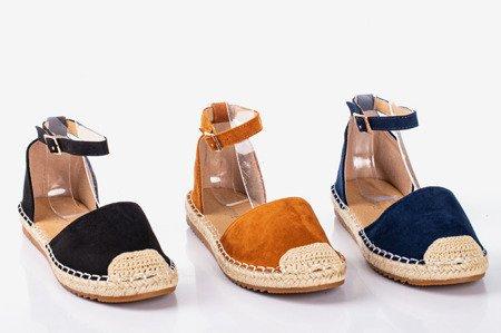 Чорні еспадрільї Leilane для жінок - Взуття