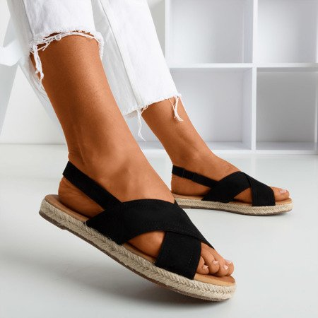 Чорні жіночі босоніжки Cosilia - Взуття 1