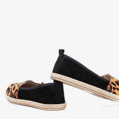 Чорні жіночі ескадрилі Fulton Leopard - Взуття 1