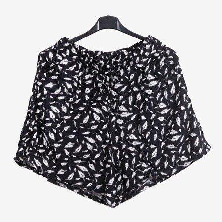 Чорні жіночі короткі шорти - Штани 1